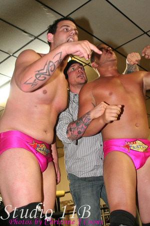 NWA Liberty States 080913 - THE PLAYAS CLUB (Bling & Juicy) vs TEAM ROH