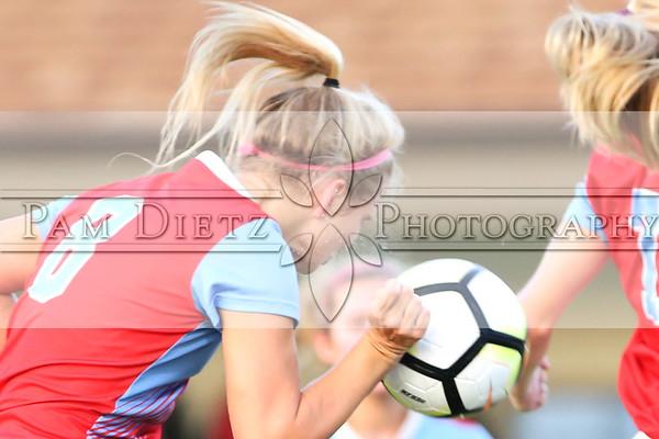 USJ girls soccer v Lexington 9-25-18