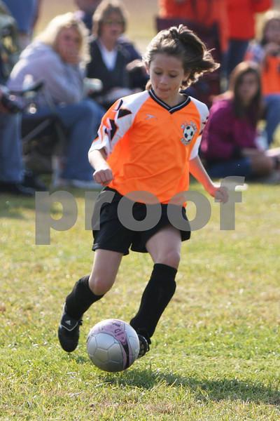 U-8 Girls Western Brown vs. Williamsburg '09