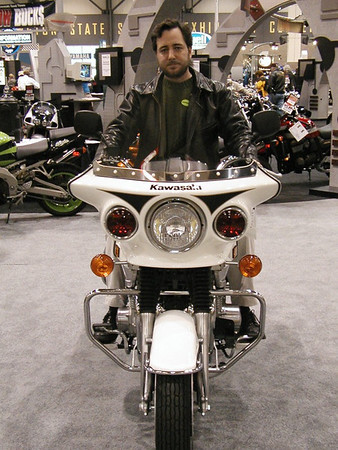01Dec01 Int Motorcycle Show in Seattle