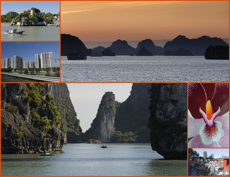 Day 10 Tues. Oct 29th Haiphong Bay to Hoi An