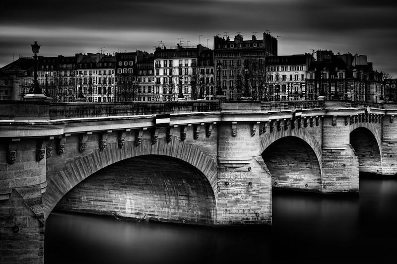 Point Neuf, Paris, Study 1