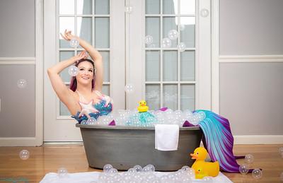 Mermaid in a Tub