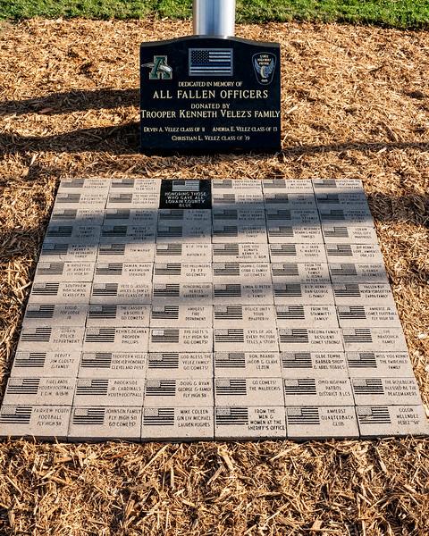 Memorial site for Kenny Velez and fellow fallen officers.jpg