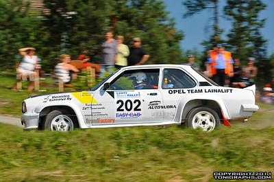 29.-30.07.2011 | Lahti Historic Rally, Lahti