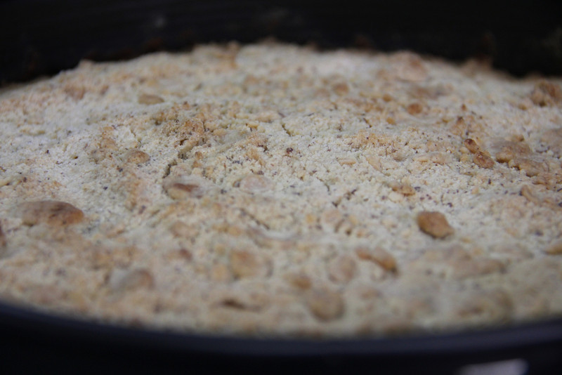 German Cooking Class February 8, 2012: Bananenkuchen mit Streusel