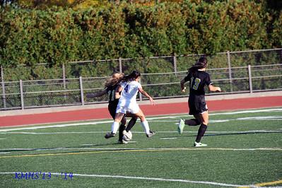 Girls Var Soccer 10-18-13BroRoger