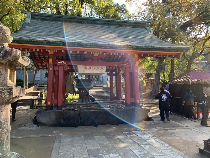 Dazaifu Tenmangu Shrine temizuya