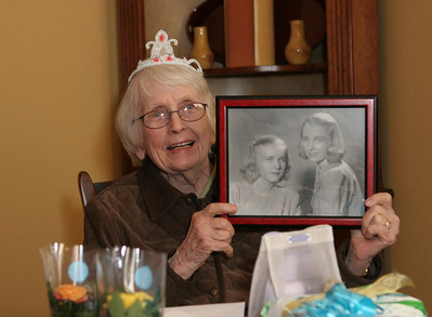 Harriett's 90th birthday