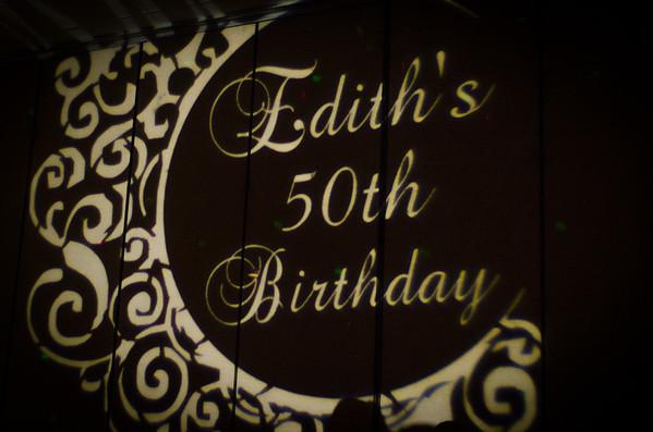 Edith's 50th Celebration