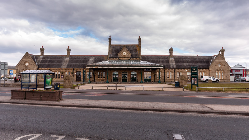 Morecambe old railway station