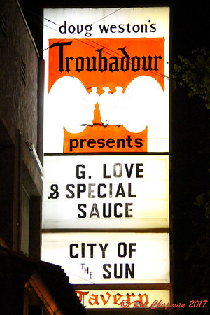 G Love & Special Sauce City of the Sun Troubadour West Hollywood CA 3-9-2017