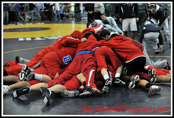 Wrestling - Ocean vs Paramus - NJ State Semi Finals  Feb 2012