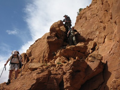 Sams Mesa Box Canyon Entry 2011