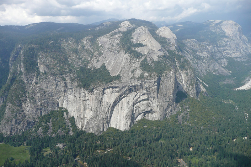View from Glacier Point. Yosemite NP