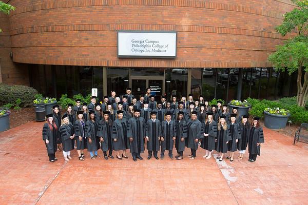 PCOM Graduating Class 2018 Group Photos