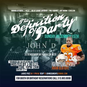 John D 12-15-13 Sunday