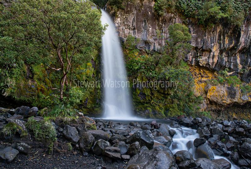 Dawsons Falls area