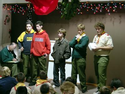 12/9/2002 - Troop PLC Election