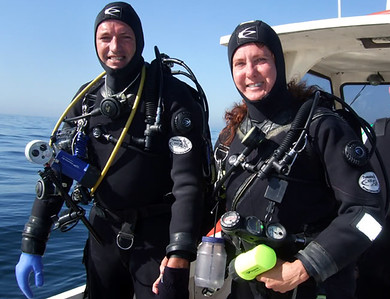 Phil and my diving moments