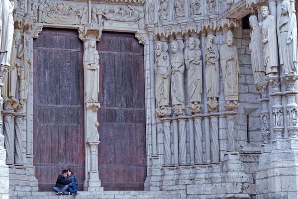 Cathedrale de Chartres - Exterieurs -