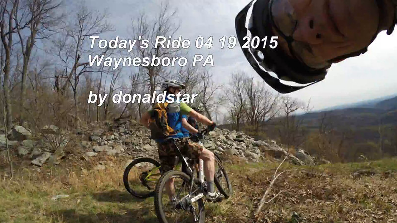 Todays Ride 04 19 2015 Waynesboro.mp4