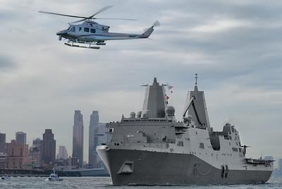 USS New York carrier escort