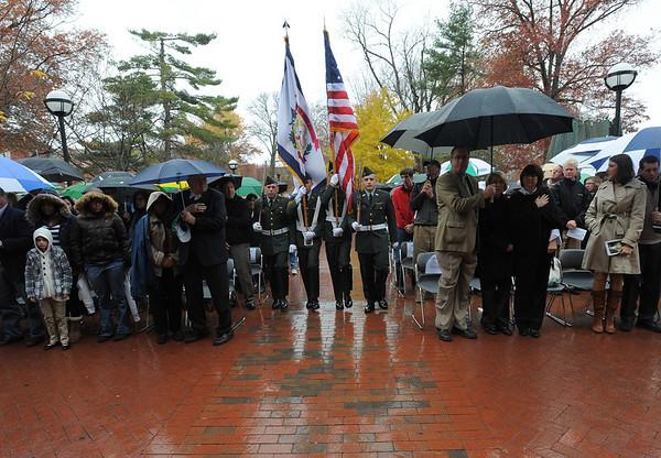 11.14.10 Fall Memorial Fountain Ceremony, 40 Year Anniversary
