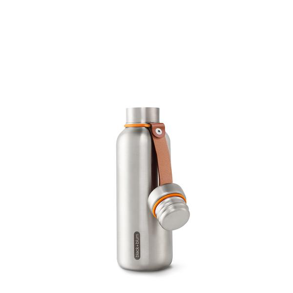 Insulated Bottle new orange open Black Blum