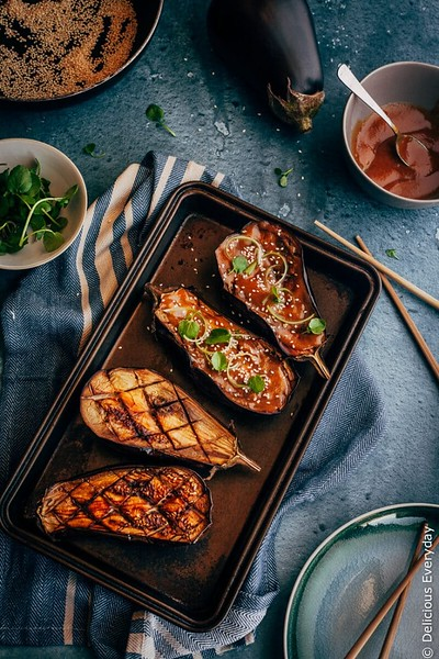Miso Glazed Eggplant - Vegan Japanese Recipes