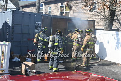 Trailer Fire - Sqauw In, Mastic, NY - 3/27/21