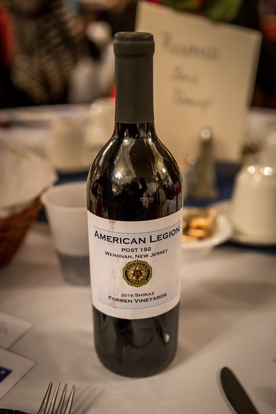 American Legion Post 192 DinNer with Friends 2016