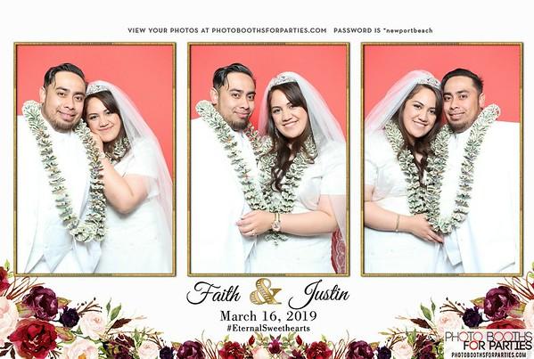 Faith & Justin's Wedding