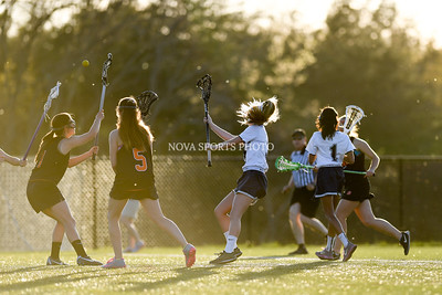 Girls Lacrosse: James Monroe vs. John Champe 4.18.16