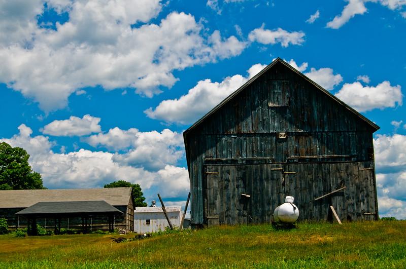 A nice old barn