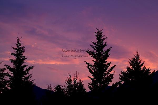 Columbia Valley Sunrise