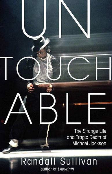 "Michale Jackson, ""Untouchable,"" book by Randall Sullivan. Stock agency cover photo."