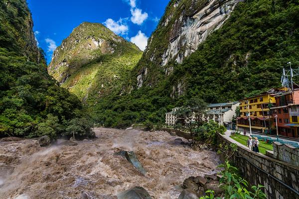 Aguas Calentes & Rio Urubamba
