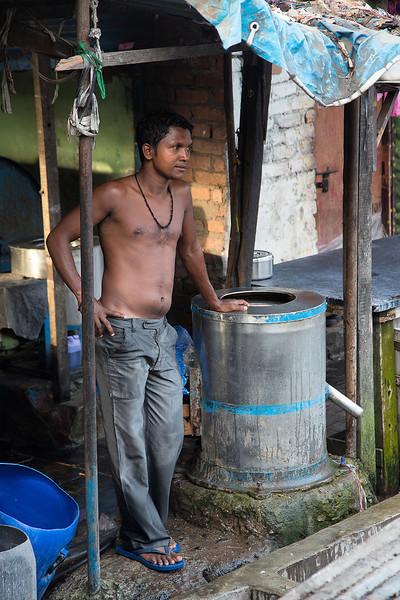 Dhobi Ghat worker