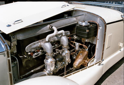 1927 Type S Engine.png