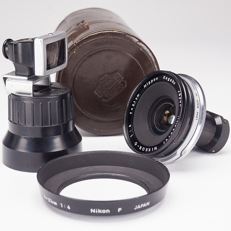 Nikon Nikkor-O 21mm f/4 Prime Wide Angle Lens