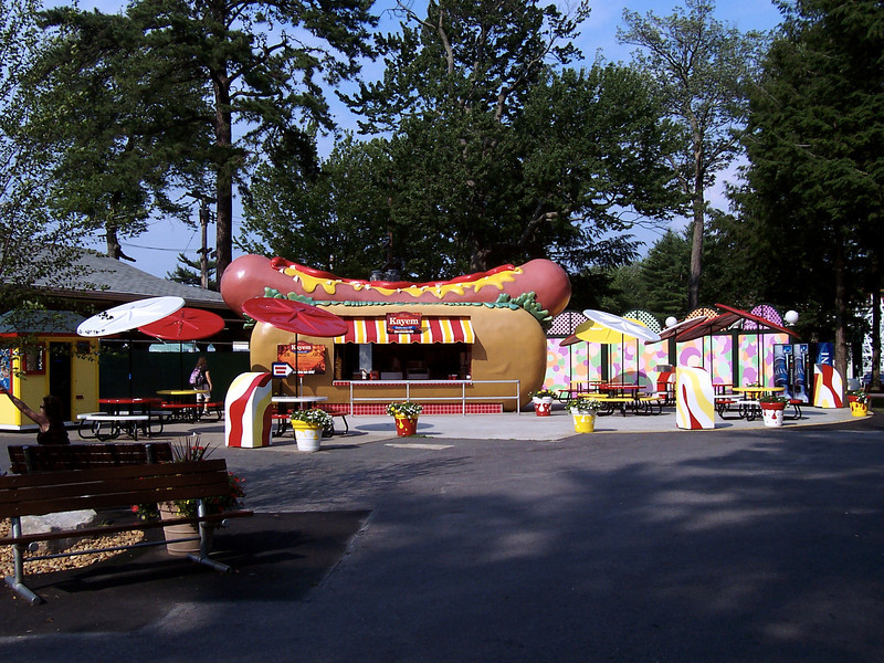 One final look at the hot dog themed Hot Dog Stand.