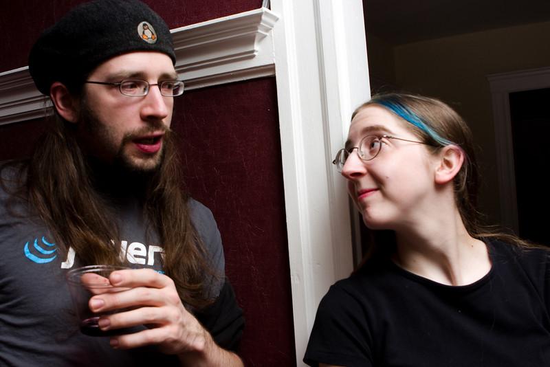 Steve and Tashari