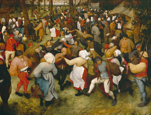 "Description of . ""The Wedding Dance"" by Pieter Bruegel I: $100M-$200M. Photo courtesy of the Detroit Institute of Arts."