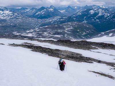 NORWAY - trekking in Jotunheimen - the Abode of the Giants and Preikestolen - Pulpit Rock  -  July-August 2017
