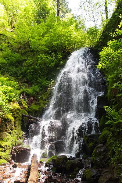 Multnomah Falls Loop 5.14.10