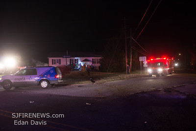 11/15/2014, MVC with Entrapment, Lawrence Twp. Cumberland County NJ, 2 Shepherd Davis Rd.