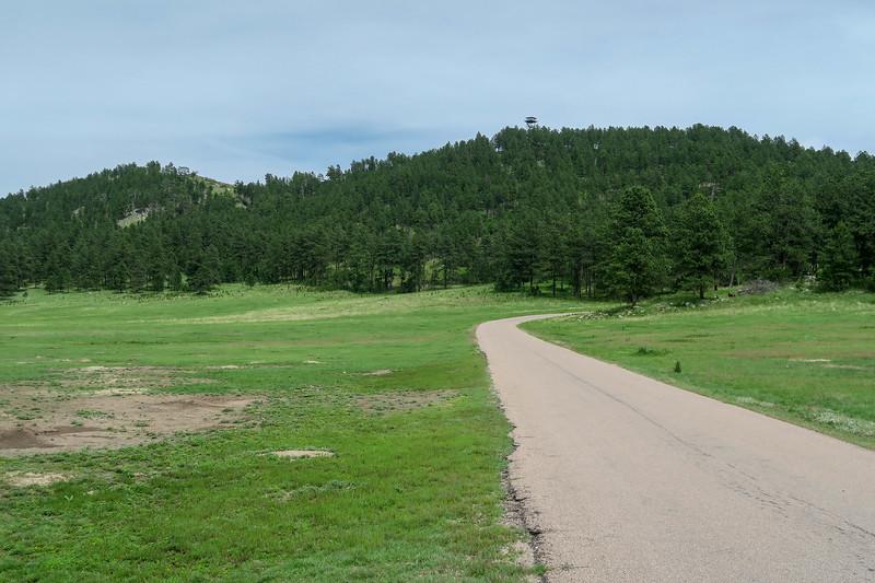 Rankin Ridge Access Road