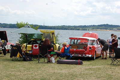 Classics in the Park  Car Show ,Barrie Ontario ,Canada