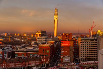 Birmingham Library view